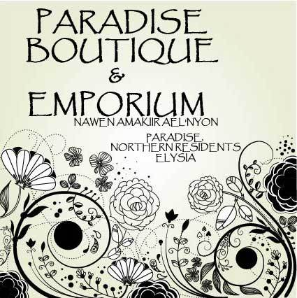 Paradise Boutique and Emporium Ad